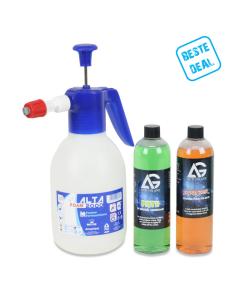 Autoglanz schuimsprayer Kit AANBIEDING
