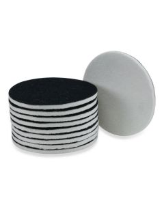 Vilt polijstpad met velcro backing 125 mm
