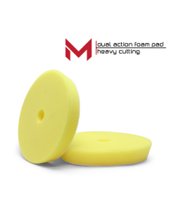 "Moore Dual Action Polijstpad Geel Heavy Cutting Pad  6""' 135/150 mm"