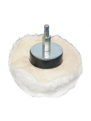 Polijstkussen katoen 60 mm