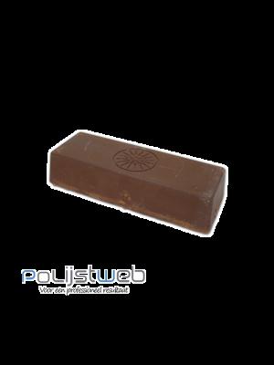Polijstpasta bruin voorpolijsten aluminium 500 gram