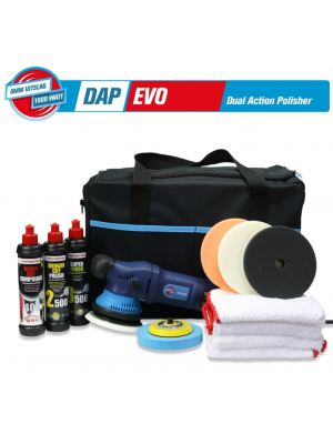 Polishing Power DAP EVO met Menzerna Starterskit Powerpack