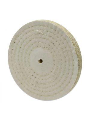 Professionele polijstschijf Sisal/Katoen 200x25x10 mm