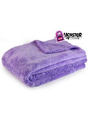 Monster microfiber towel purple monster XL